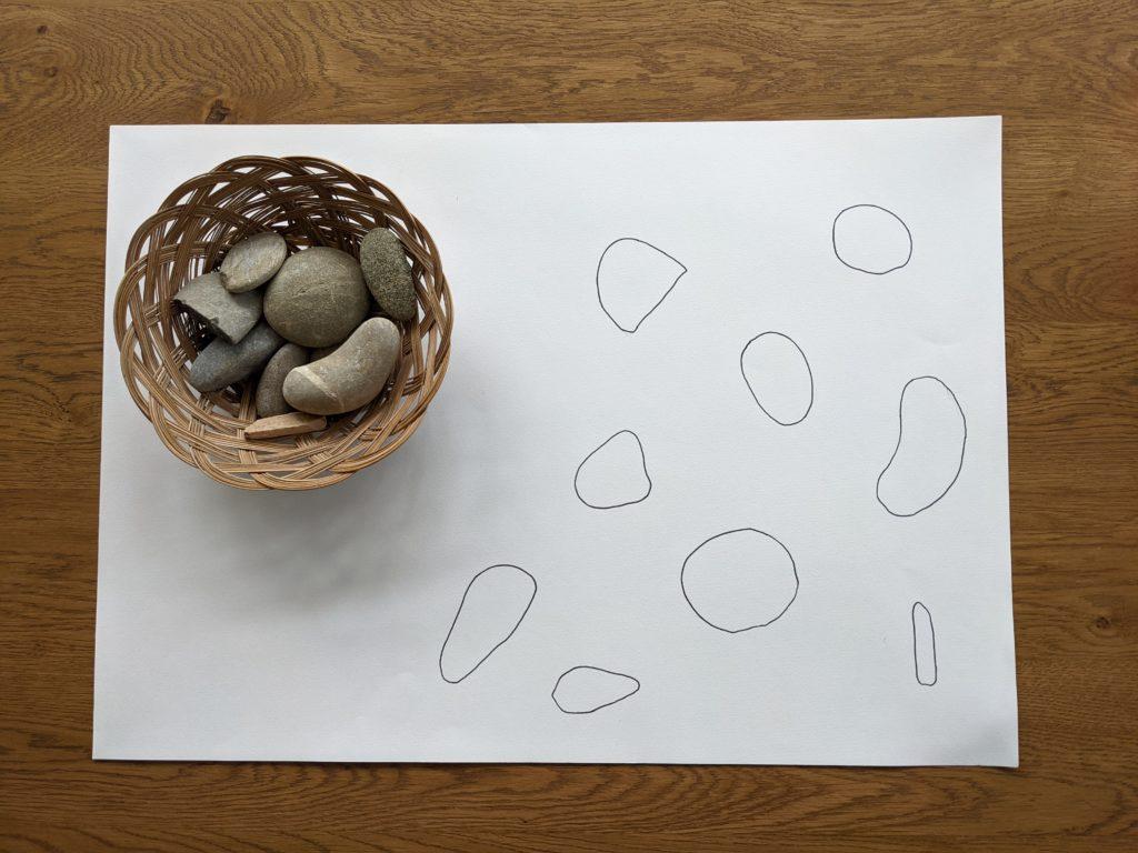 stenen puzzel